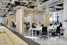 Airbnb's European Operations Hub in Dublin / Heneghan Peng Architects #meeting #boxes #chill #room #Confession meeting #pod #reduce #noise from #phone in  #open-space #Co-Working #idden place #privacy #skype call #conference #phone call #noise #suppressor #loud #speak #office interior #office furniture #stall #cabin #sound #buzz #call #calling