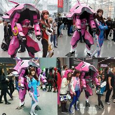 SOOOOO MANY AMAZING D.VA'S!!!! damn I'm gonna have to make a few of these :) you guys are all incredible!!!!!! @overwatchcosplays #overwatch #overwatchcosplay #dvacosplay #unforgettable #guyswhocosplay #menofcosplay #talent #creativity #harem #meka #dva #bae #dvababe