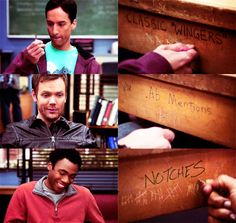 "Classic ""Wingers"", ab mentions... Notches. #SixSeasonsAndAMovie #CommunityLivesOn"