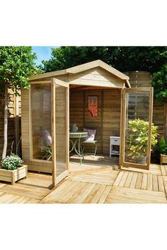 shire barclay double door corner summerhouse 10 x 10 ft garden ideas gardens and garden seat - Garden Sheds 7x7
