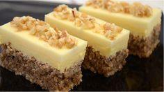 Prăjitură fină cu nucă și ciocolată albă: gata în 30 de minute – gustul de nucă și ciocolată fac din acest desert un adevarat deliciu… Astazi va vom prezenta o reteta incredibil de simpla. Fiecare muscatura devine o placere culinara. Produsul se poate gasi si in vitrina cofetariilor de lux. Ingrediente pentru blat: – 6 …