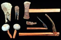 This just gives me goose bumps for some reason - to realize that humans have been fashioning and using tools through out its history  - Mesopotamian tools