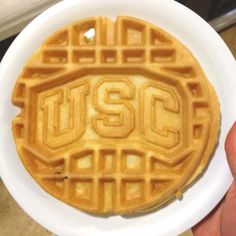 USC waffles...Go Gamecocks!! I need this