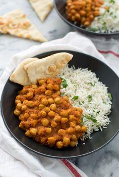 vegan slow cooker chana masala