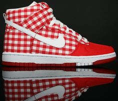 best service e5b76 40a31 Nike WMNS Dunk High Skinny - Challenge Red Tablecloth - SneakerNews.com