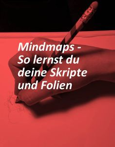 Create perfect mind maps to learn ten times faster - Lernen - Mind maps are great for structuring knowledge and notes. At least if you create them correctly. University Tips, Good Student, The North Face, Mind Maps, Study Hard, Study Inspiration, Study Notes, Study Motivation, Study Tips