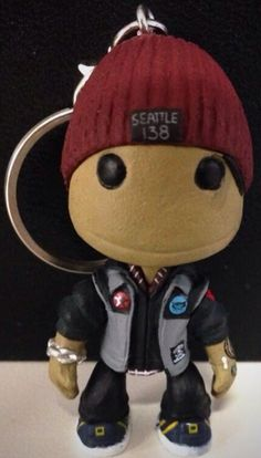 Sack boy Delsin from inFamous Second Son