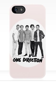 Light Pink One Direction iPhone Case #onedirection