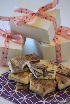 White Chocolate Almond Bark