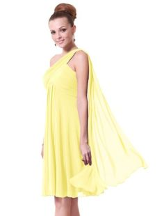 67% Off was $119.99, now is $39.99! Ever Pretty NWT One Shoulder Ruffles Padded Bridesmaid Dress 03537