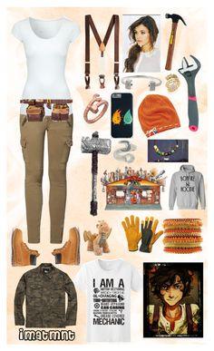 """Female Leo Valdez"" by imatmnt ❤ liked on Polyvore featuring Mos Mosh, Jane Norman, Brooks Brothers, Timberland, Blu Bijoux, Hudson Jeans, Nik Stone, John Hardy and Keds"