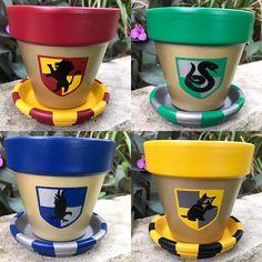 Harry Potter Poudlard maison de Pots de fleurs