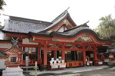 青島神社  Aoshima shrine
