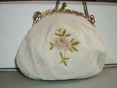 Antique Purse  Vintage Purse Micro Beads and by FlanneryCrane, $48.00