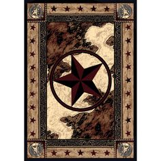 Texas Star Area Rug