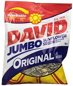 ^^ Tried it! Love it!: David Seeds Jumbo Sunflower, Original, 5.25 Ounce (Pack of 12) at Baking Ingredients.