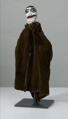 Paul Klee (Swiss-German 1879-1940), Untitled hand puppet (Monk), 36 cm, 1922. Collection Zentrum Paul Klee, Bern.