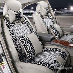 New Arrival Fashion Ze Print Deluxe High Quality Seat Covers ...