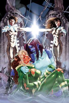 X-Men Annual Cover by diablo2003 on DeviantArt