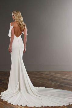 Discover the perfect Martina Liana Wedding Dress at Lovella Bridal in Glendale, CA. Bhldn Wedding Dress, Luxury Wedding Dress, Wedding Dress Trends, Designer Wedding Dresses, Wedding Attire, Bridal Dresses, Wedding Gowns, Backless Wedding, Wedding Ideas