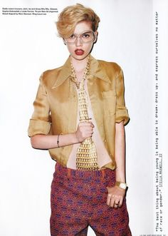 Stella Maxwell for i-D Pre-Fall 2012