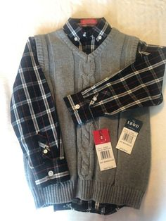 BOYS XL 14 NAVY /& WHITE STRIPED DISTRESSED HENLEY SHIRT NWT THE CHILDREN/'S PLACE