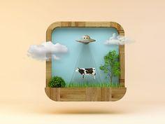Realistic App icon series on Behance