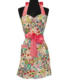 Take a look at this Caribe Apron - Women on zulily today!
