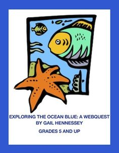 Learn lots of fun facts with this Exploring the Ocean Blue: A Web quest.There are 9 informative web questions. Fun Facts, comprehension questions,extension activities,links.Use as part of a unit on oceans,a Friday activity for a Friday or before a vacation.Skills include:reading for information and using research/computer skills. http://www.teacherspayteachers.com/Product/Oceans-Exploring-the-Ocean-Blue-A-WebquestExtension-Activities-705943 $3.50