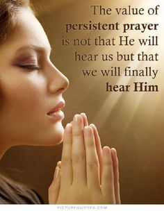 Prayer is a spiritual weapon in the life of the believer