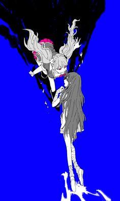 Junko Enoshima Death Gif Kokichi Ouma| Danganro...