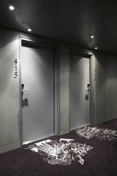 Mama Shelter Lyon Hotel designed by Philippe Starck