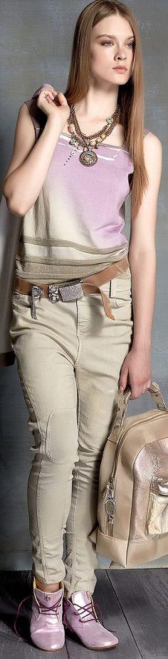 Elisa Cavaletti - Spring / Summer 2016 women fashion outfit clothing style apparel @roressclothes closet ideas