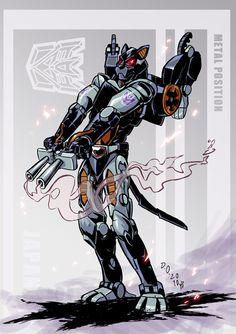 Transformers Beast Wars Ravage.
