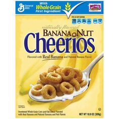 General Mills Banana Nut Cheerios Only $0.74/Each At Rite Aid With Printable Coupon!