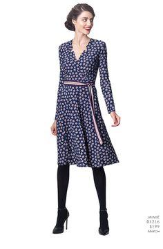 Shop Leona Edmiston designer print frock dresses online from the Official Leona Edmiston eBoutique. Frock Dress, Wrap Dress, Leona Edmiston Dresses, Frock Design, Affordable Dresses, Vintage Fashion, Vintage Style, Work Fashion, Frocks