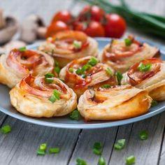 Gyors pizzás csiga Recept képpel - Mindmegette.hu - Receptek