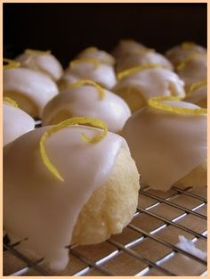 anginetti.  italian lemon drop cookies.