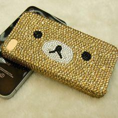 A bear case. It's beary cute.