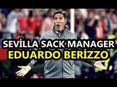 """Sevilla Sack Eduardo Berizzo A Week After Returning From Cancer Surgery - WATCH THE VIDEO.    *** prostate cancer surgery ***   Manchester United's Champions League opponents Sevilla have sacked their coach Eduardo Berizzo exactly a week after he returned to work following an operation to treat prostate cancer. """"Sevilla FC would like to express its gratitude to Berizzo for his..."""