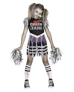 Zombie cheerleader costume meijer halloween 2014 halloween kids zombie fear leader costume spirithalloween solutioingenieria Gallery
