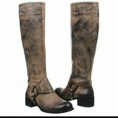 Vince Camuto Shaylee Leather Boots