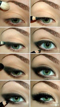 love cat eyes for green eyed girls