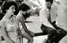 Jackie and John Kennedy, Hickory Hill 1957