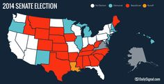 2014: GOP Wins Senate, Adds to House, Grabs Governorships