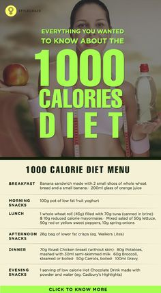 The rationale behind the 1000 calorie Indian diet plan is that the drastic reduction of caloric intake results in weight loss with little or no ... #weightloss