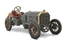 """1906 Locomobile Old 16 Race Car.  Just like the one that Isaac Bell owned in """"The Chase"""", by Clive Cussler."""