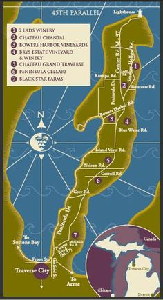 old mission michigan wineries | 50 States of Wine - A Food and Wine Blog: October 2011