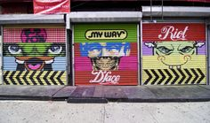 D*Face Triple Shutters NYC