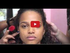 Maquiagem Para Pele Negra | Maquiagem Passo a Passo | - YouTube